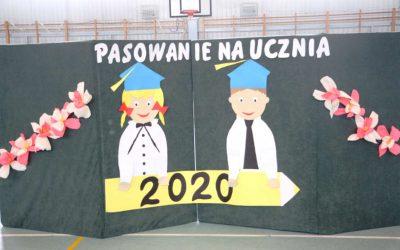 Pasowanie ucznia klasy I – 2020